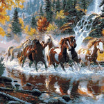 Animals Oil Painting By Numbers For Adults Paints