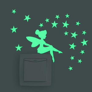 Luminous Fairy Sticker