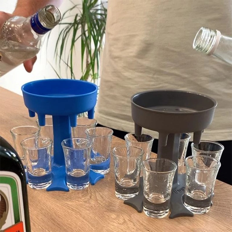 Drink Dispenser Rack