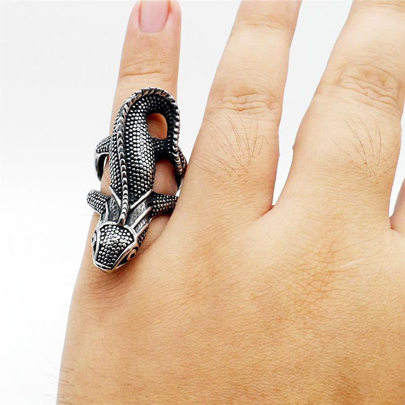 Lizard Dragon Animal Ring