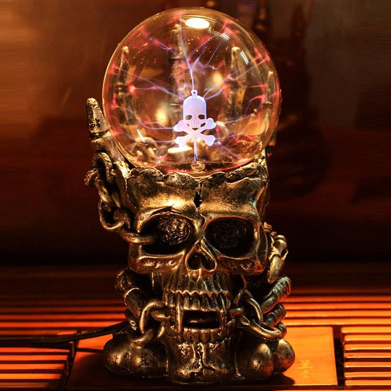Strange New Supernatural Photoelectric Skull