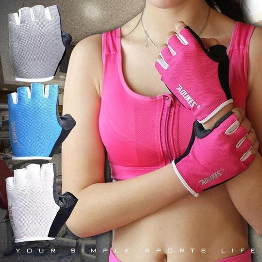 Breathable Anti-skid Gym Gloves