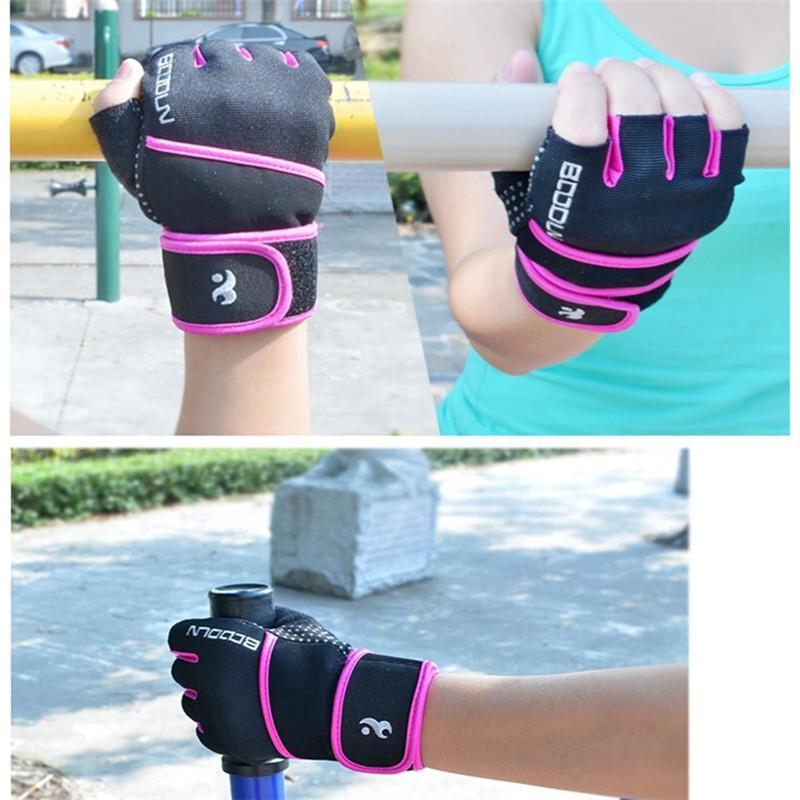 Bodybuilding Workout Wrist Wrap Gloves