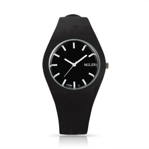 Silicone Sports Style Watch