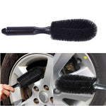 Car wheel brush