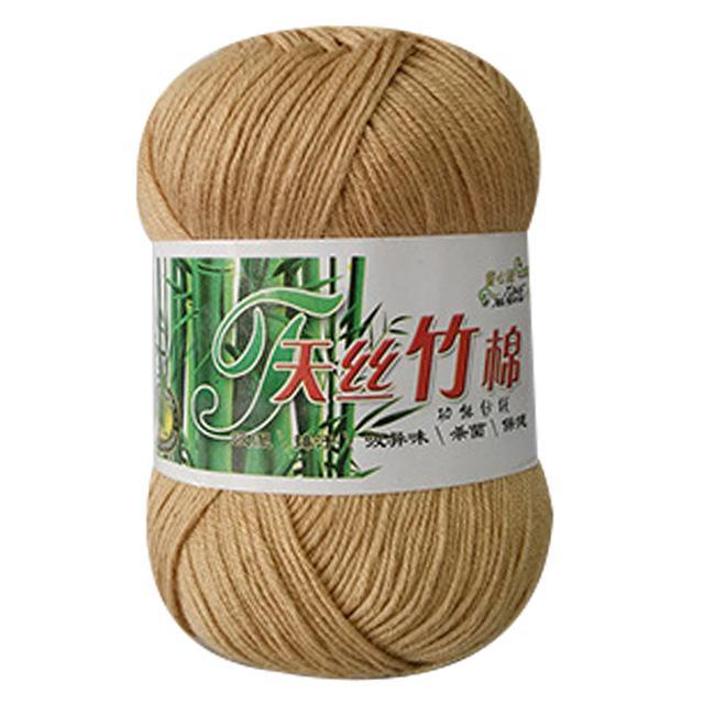 Soft Bamboo Crochet Cotton