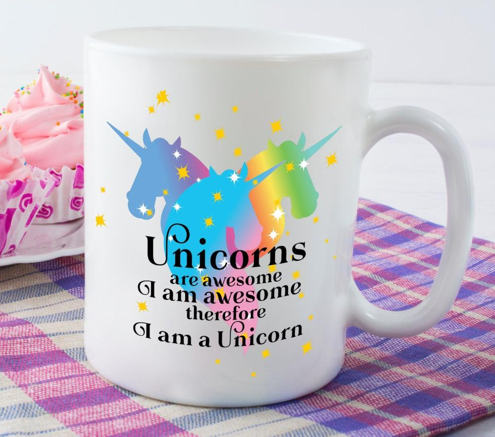 Rainbow Unicorn Mug,