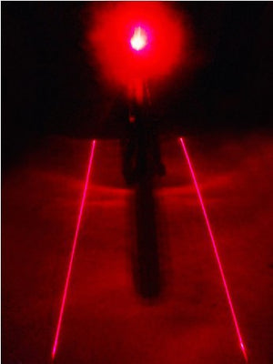 Bicycle Tail light (5LED+2Laser)