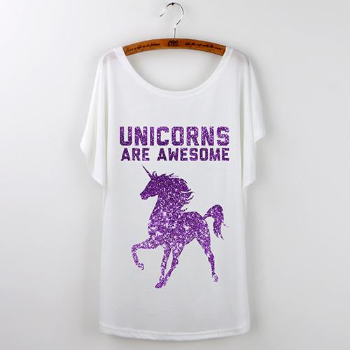 Unicorns Are Awesome T-Shirt