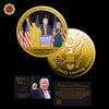 The 45th President Donald Trump and Ivanka Trump Coin