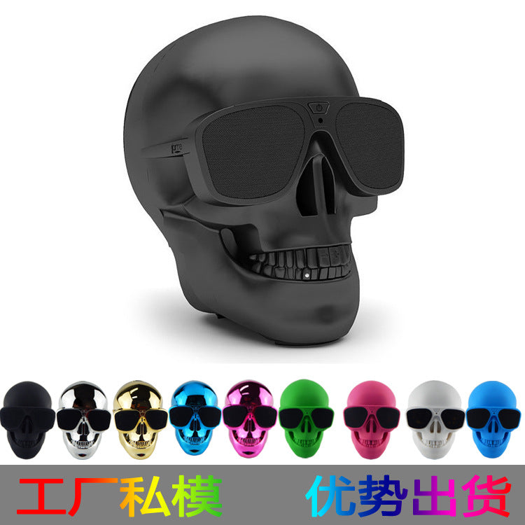 Skull Shape Bluetooth Speaker