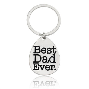 Best Ever Family Key Chain