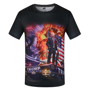 USA T Shirt Men T-shirt