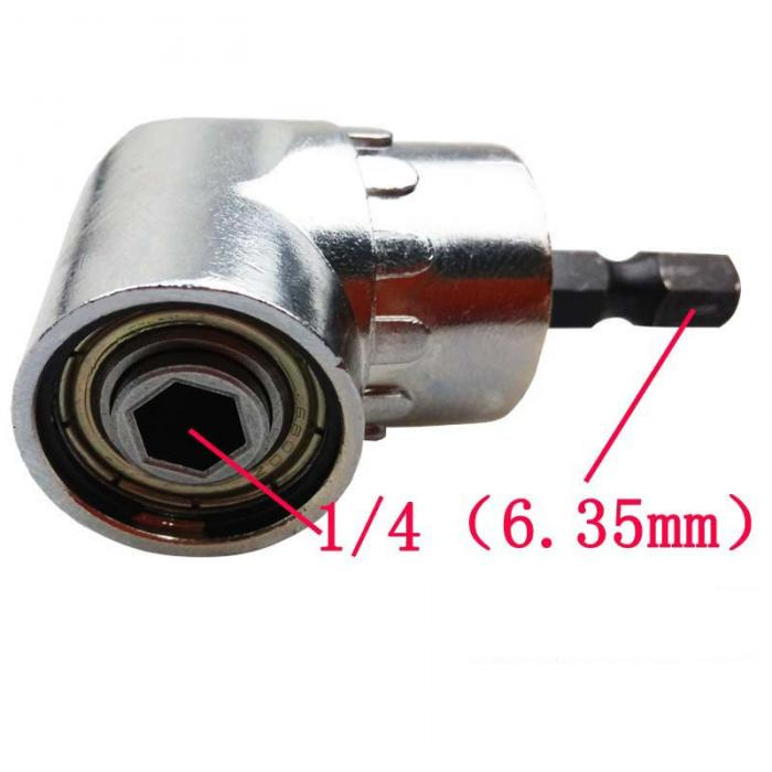 Adjustable 105 Degree Right Angle Driver