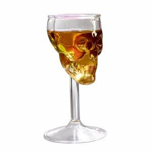 Amazing Skull Wine Glass