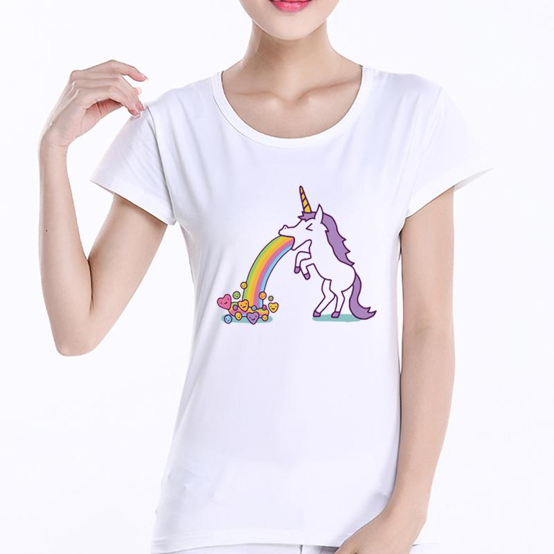 Funny Rainbows Unicorn T-Shirt