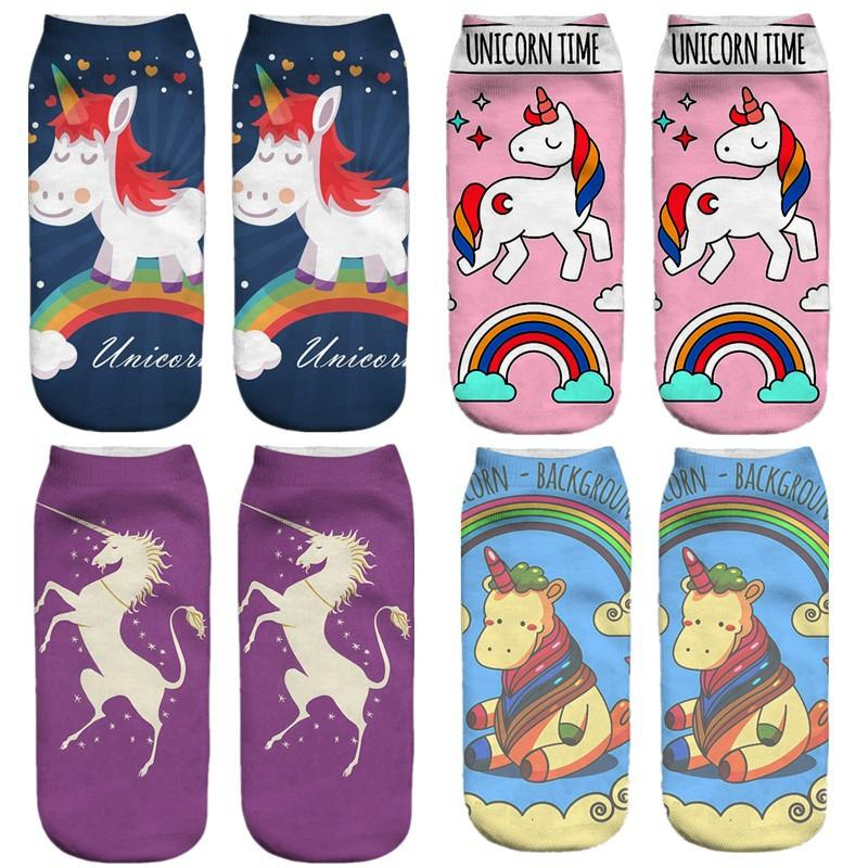 Beautiful Unicorn Socks