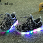 Sponge Mice  LED Light Shoes