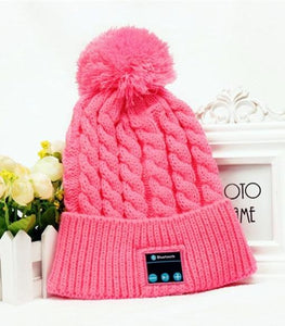 Knitted  Bluetooth Beanie Hat