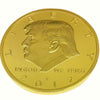 Golden Donald Trump Presidential Coin 2017