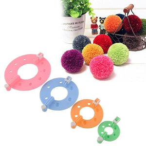 Pom Pom Maker 1 Set 4 Sizes