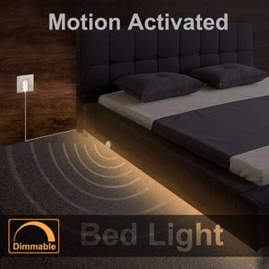 Dimmable Under-Bed Light with Motion Sensor