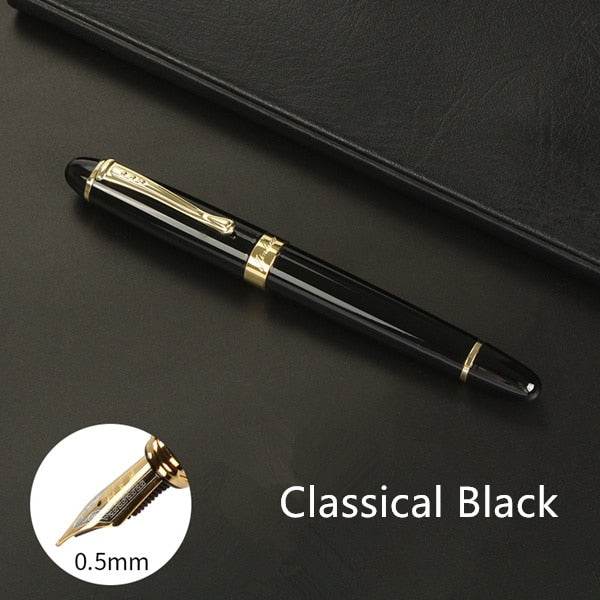 High quality Iraurita Fountain pen Full metal Golden Clip luxury pens Jinhao 450 Caneta Stationery Office school supplies A6293