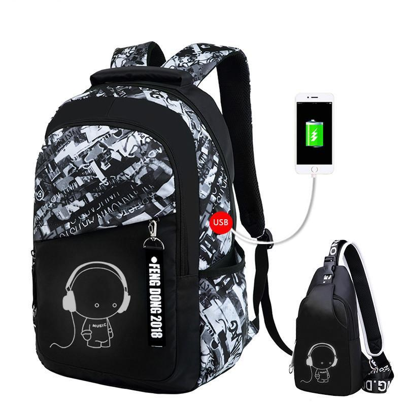 Waterproof Large Backpack