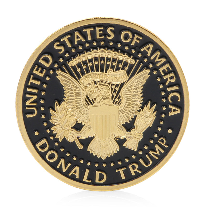 In God We Trust  Donald Trump Presidential Coin 2016