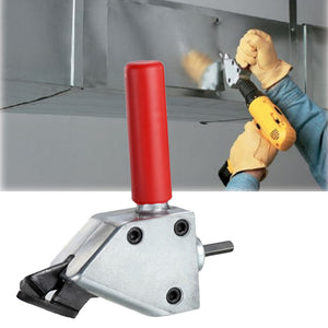 Metal Cutting Sheet Nibbler  Drill Attachment Cutting Tool