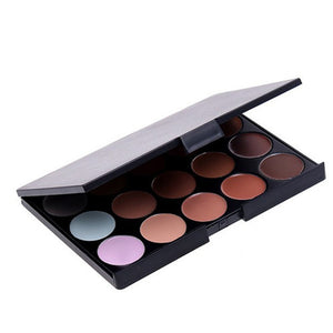 Professional  15 Colors Natural Makeup