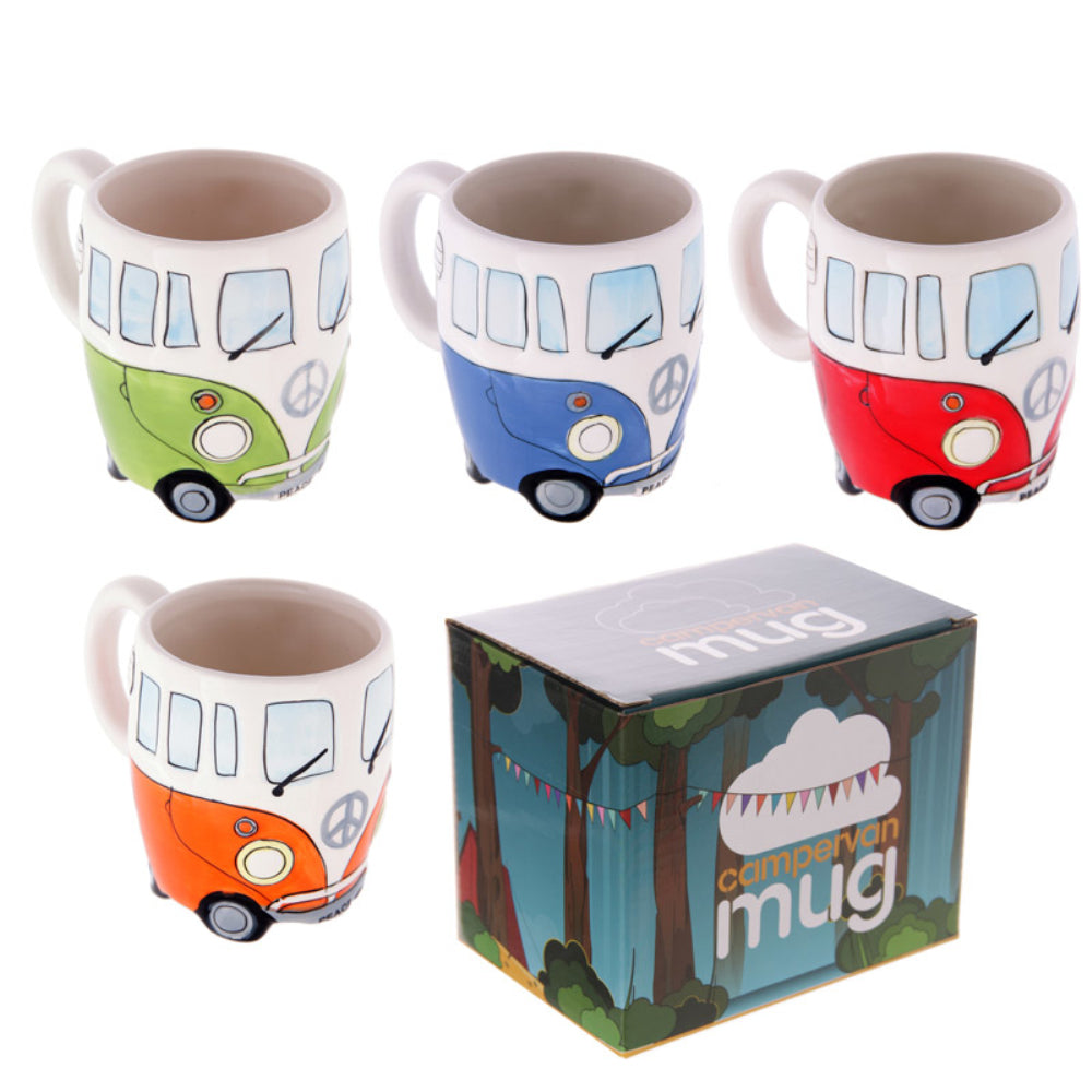 Camper Van Adventures Ceramic Coffee Mug