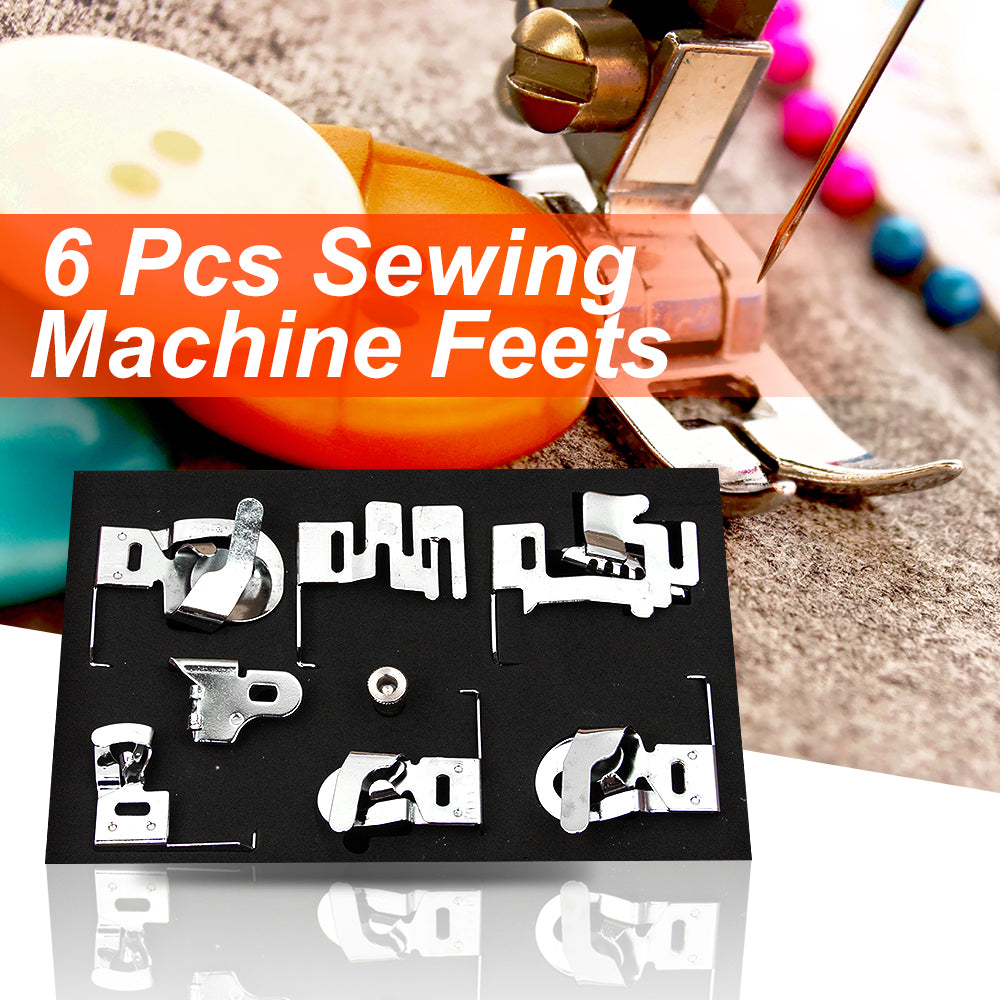 6pcs Sewing Machine Tools Foot