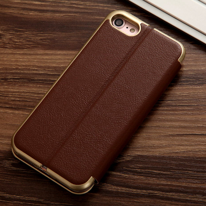 Stylish Leather Case / Wallet for iphone