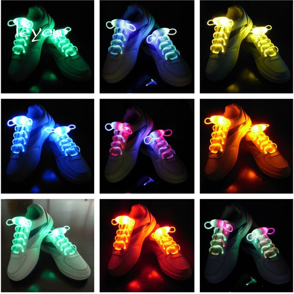 LED NO Tie Sport Shoe Laces