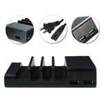 4 Port USB Desktop Universal Mobile Phone Charging Station