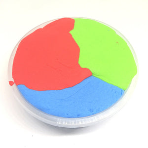 Fluffy Multicolor Foam Slime Putty Stress Relief
