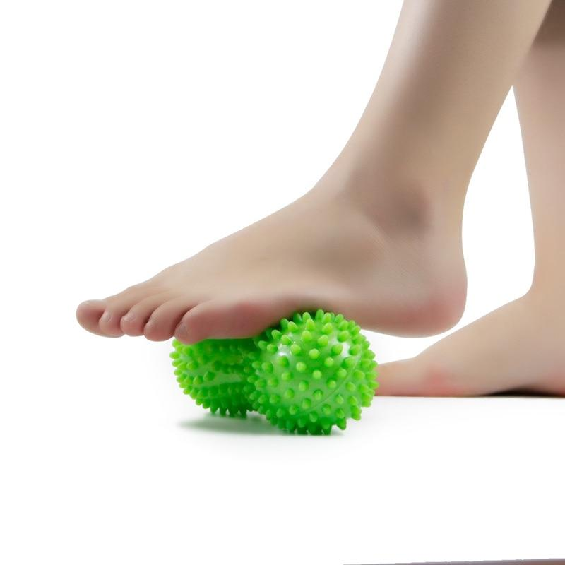Peanut Spiky Massage Ball Roller - Reflexology Muscle Trigger Point Therapy