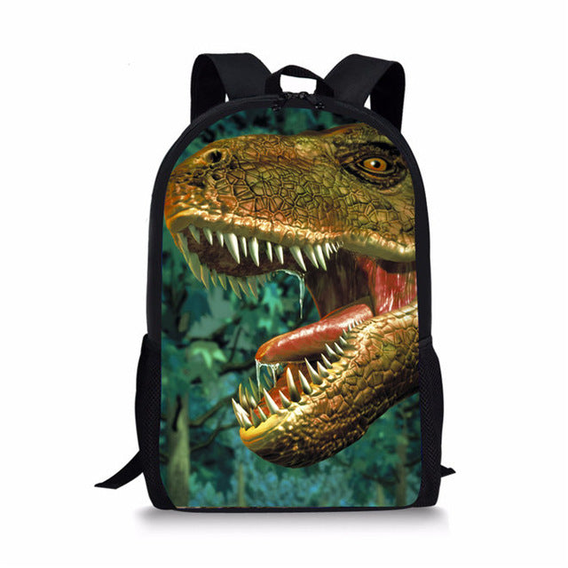 Dinosaur School Bag Backpack Set