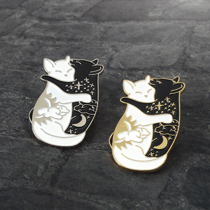 National Cat Day Brooch