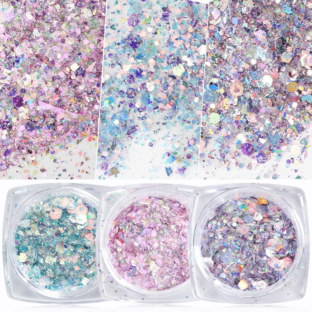 Amazing Nail Mermaid Glitter Flakes