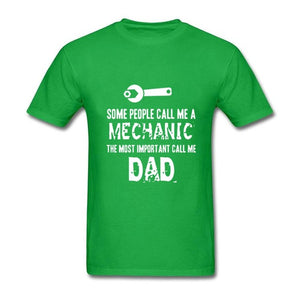 Mechanic Dad T-Shirt