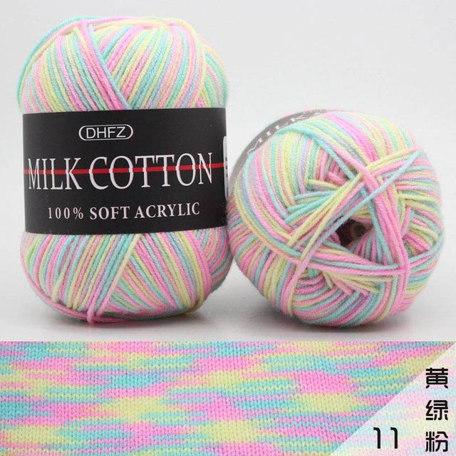 50g Double Milk Soft Baby Wool