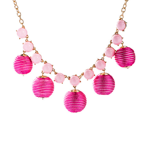 Mimi Pink Necklace