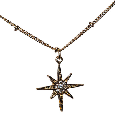 Celestia Layered Moon & Stars Necklace