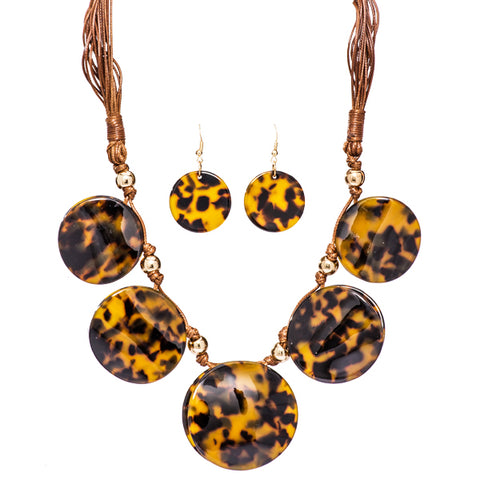Becca Tortoise Shell Necklace