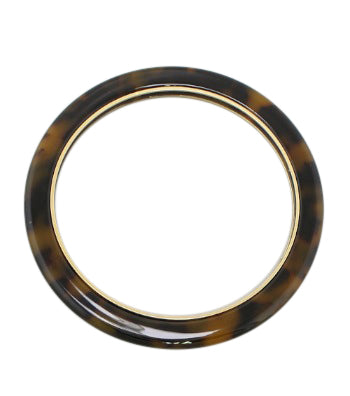 Alanna Tortoise Shell Bangle Bracelet