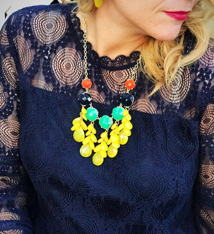 Darla Multicolor Necklace Set