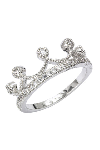 Elsa Crystal Crown Ring
