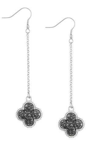 Cassandra Clover Dangle Earrings